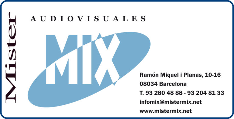 Audiovisuales Mister Mix. Contacto