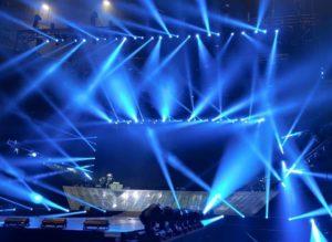 Proyectos de Iluminación espectacular y efectos. Instalaciones Audiovisuales Barcelona