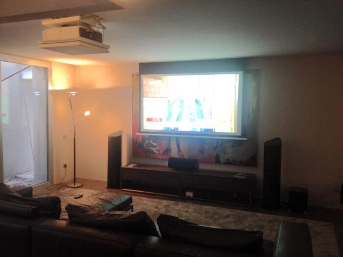 Venta e Instalación de Home Cinema. Audiovisuales Mister Mix