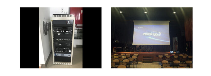 Solucions Audiovisuals per Auditoris. Audiovisuales Mister Mix