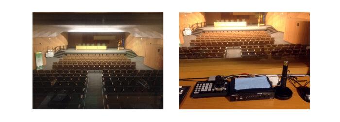 Instalaciones Audiovisuales en Auditorios. Audiovisuales Mister Mix