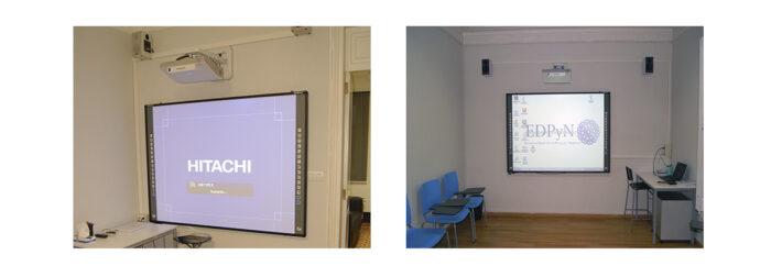 Instalación de Pizarra Digital para la Enseñanza. Audiovisuales MisterMix