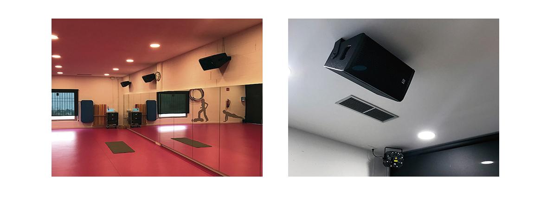 Sonorizar Sala de Actividades Dirigidas