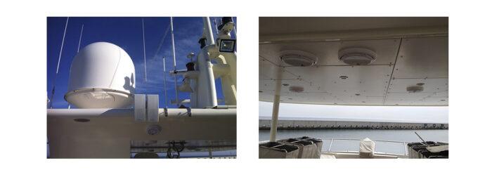 Sonorización de un Yate. Instalaciones Audiovisuales para Barcos