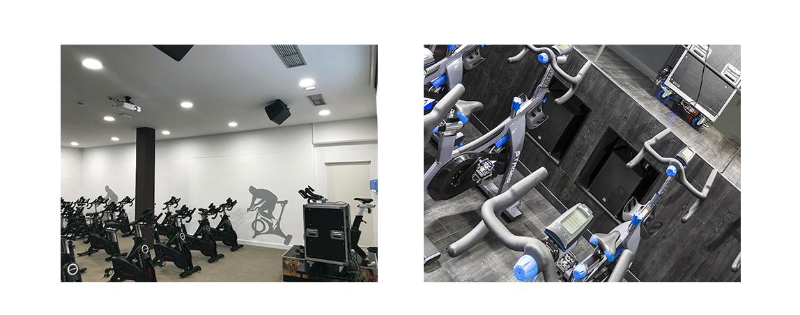 Instalaciones Audiovisuales en Gimnasios