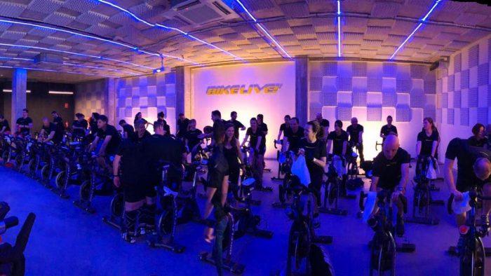 Sonorizar Sala de Spinning. Bike Live