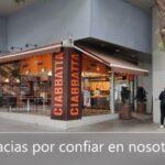 Instalaciones Audiovisuales para Empresas, Comercios y Oficinas - Panaderia Ciabbatta