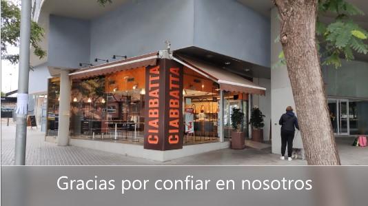 Instalación Audiovisual en Panadería Ciabbatta