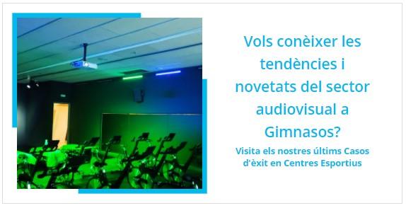 Instal·lacions Audiovisuals per Gimnasos
