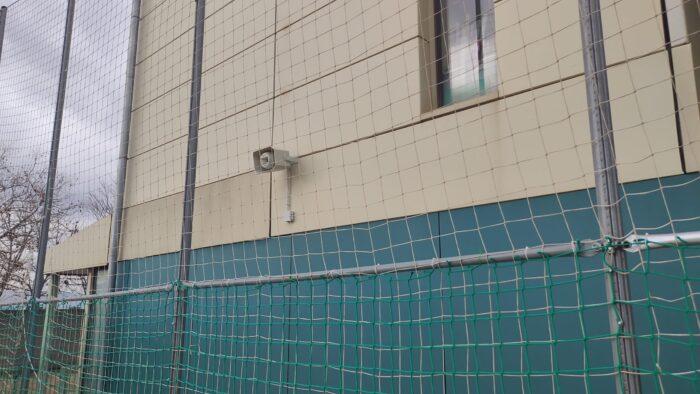 Instalación de Megafonía en el Patio de un Colegio. Audiovisuales MisterMix