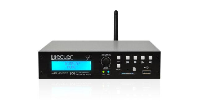 Reproductor ePLAYER1 para Megafonía en Colegios. Audiovisuales MisterMix