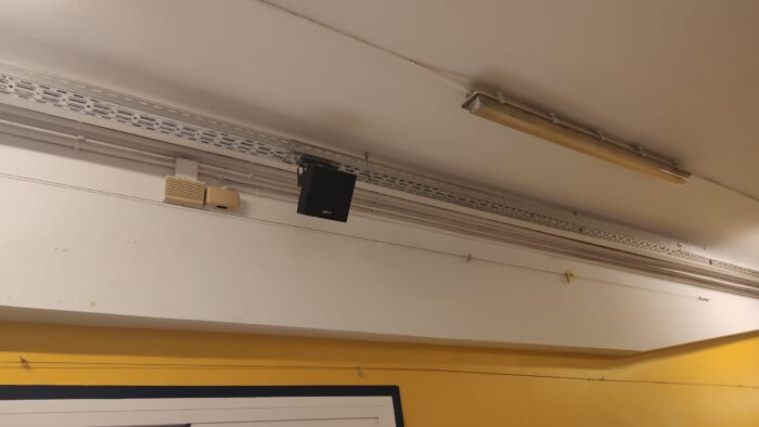 Altavoz de Megafonía para Colegios. Audiovisuales MisterMix