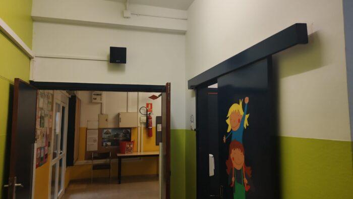 Instalación de Megafonía en Pasillo. Audiovisuales MisterMix