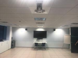 Instalación Audiovisual para Streaming. Audiovisuales Mister mix
