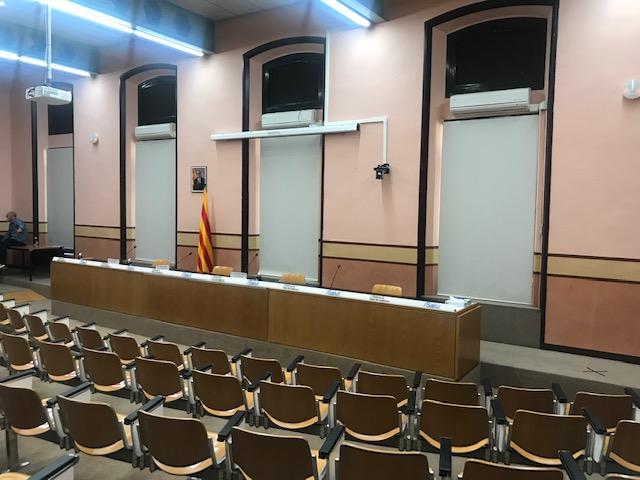 Auditorio CatSalut Barcelona. Audiovisuales Mister Mix