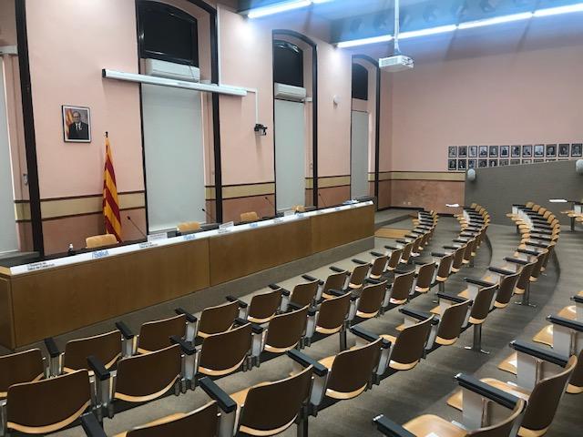 Instalación Audiovisual en Sala de Prensa para Videoconferencias