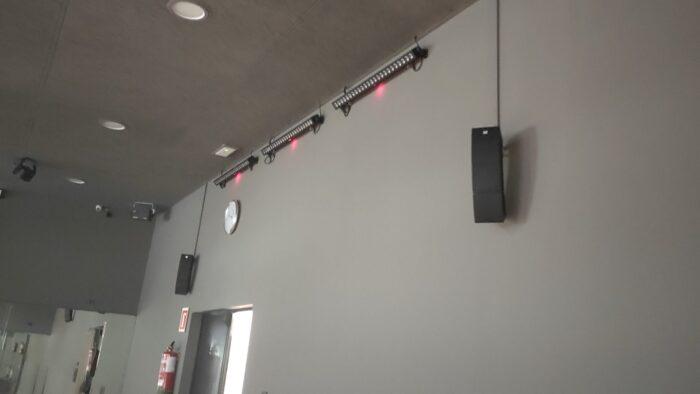 Reforma Audiovisual de Centre Esportiu. So per Spinning
