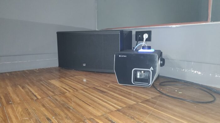 Reforma Audiovisual de Centre Esportiu. So per Spinning subgreu LDCURV500 ISUB