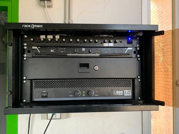 Instal·lacions Audiovisuals en Col·legis. MisterMix